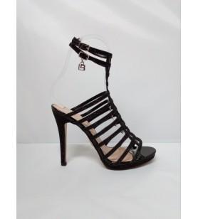 Čierne sandále Laura Biagiotti