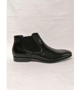 Čierna kotníková obuv Bugatti