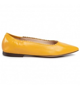 Žlté baleríny Caprice
