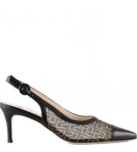 Čierne sandále HŌGL