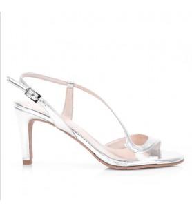 Strieborné sandálky Brenda...