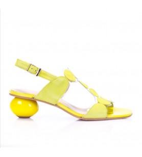 Žlté sandále Brenda Zaro