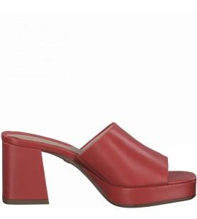Červené šľapky Tamaris