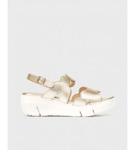 Zlaté sandále WONDERS