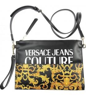 Čierno-žltá kabelka VERSACE...