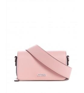 Ružová mini kabelka GUESS