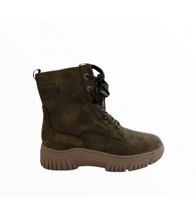 Zelené členkové topánky...