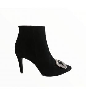 Čierne kotníky Brenda Zaro