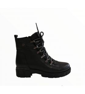 Čierne členkové topánky LA...