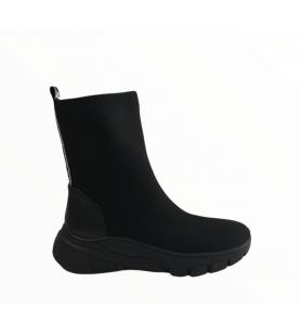 Čierne elastické čižmy EPICA