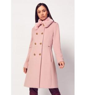 Ružový kabát CANNELLA
