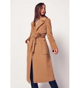 Hnedý kabát CANNELLA