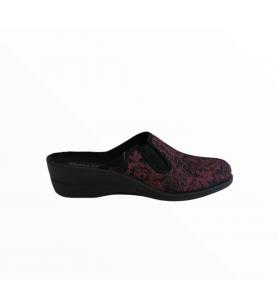 Bordové papuče