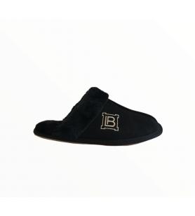 Čierne papuče LAURA BIAGIOTTI