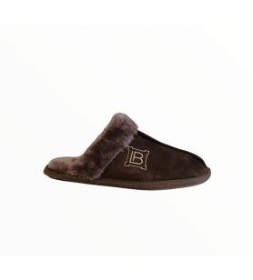 Hnedé papuče LAURA BIAGIOTTI