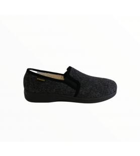Sivé pánske papuče
