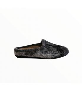 Sivé Paríž papuče