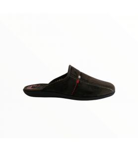 Tmavozelené pánske papuče